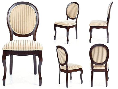 Jadella 'sedia per sala da pranzo in legno massiccio