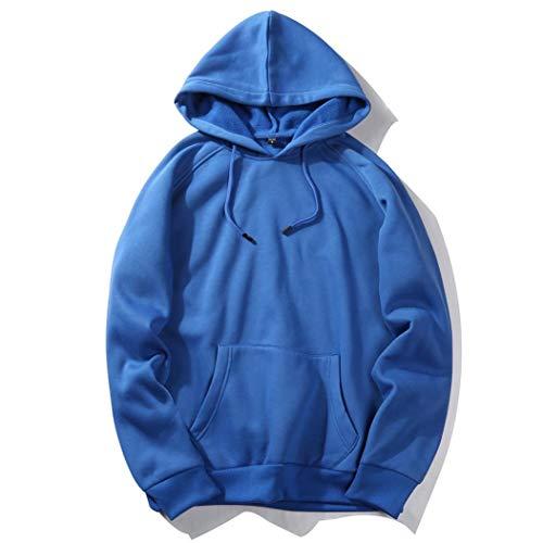 Binggong Herren Shirt,Herren Herbst Casual Rug Hop Hip Hop Quaste lose Partei Fleece Langarm Hoodie Polo Shirt Strand Top