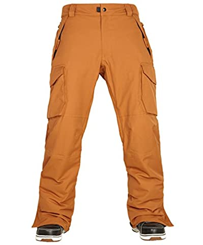 686 - Pantalon De Ski/snowboard Authentic Infinity Cargo Insulated - Cognac Homme - Taille:m