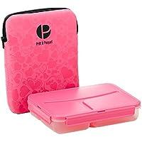 Prêt à Paquet L1005 Lunchbox, 3-fach unterteilt, Hülle rosa