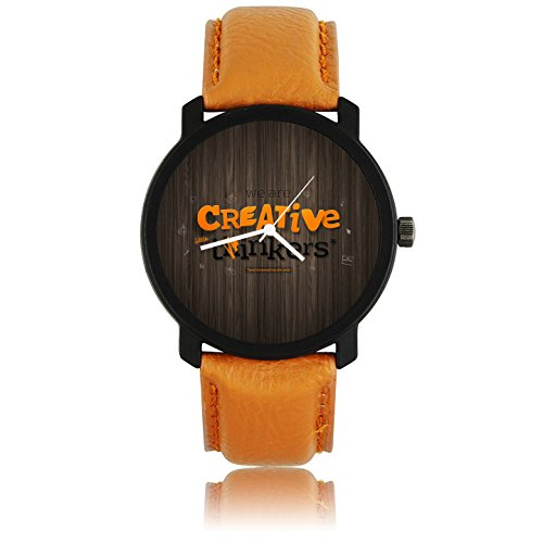 ZAVIO Creative New Designer Extra Slim Watch For Boys And Men
