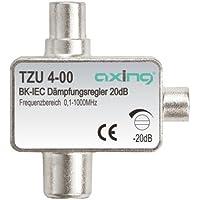 Axing TZU 4-00 Attenuatore regolatore di attenuazione (0,1-1000 MHz, 20 dB, Connettore coassiale) - Trova i prezzi più bassi su tvhomecinemaprezzi.eu