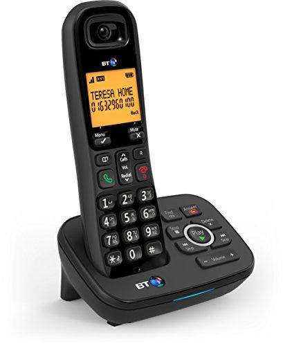 British Telecom BT 1700 Nuisance Call Blocker Single Telefono DECT Identificatore di chiamata Nero