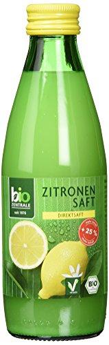 Biozentrale Bio Zitronensaft, 250ml
