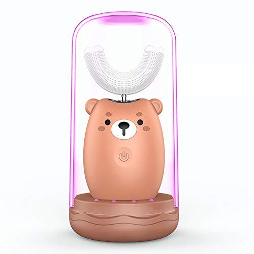 Kids Elektrische Zahnbürste Lanbeibei Elektrische Kinderzahnbürste mit Schalltechnologie - Elektrische Kinderzahnbürste
