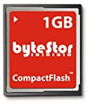 ByteStor 1GB CompactFlash Card