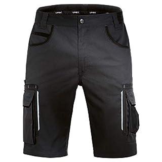 Uvex Tune-Up Arbeitshosen Männer Kurz - Shorts für die Arbeit - Schwarz - Gr 48