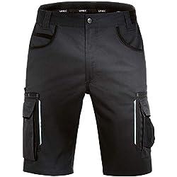 Uvex Tune-Up Pantalons Courtes de Sécurité - Bermudas - Noir - Taille 46