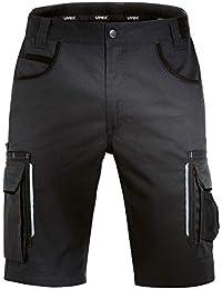 Uvex Tune-Up Pantalones Cortos de Trabajo | Pantalón Cargo | Bermudas con Multi -