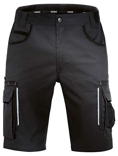 Uvex Tune-Up Arbeitshosen Männer Kurz - Shorts für die Arbeit - Schwarz - Gr 44