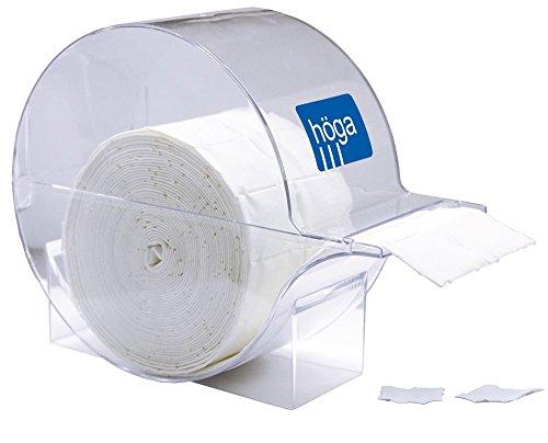 Höga Tupf Zellstofftupfer, unsteril, hochgebleicht (Ohne Halter) - 4 x 5 cm - 2 x 500 Stück