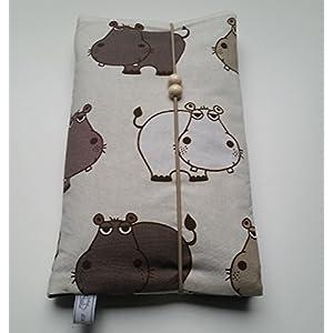 Windeltasche Kordelverschluss, Hippo