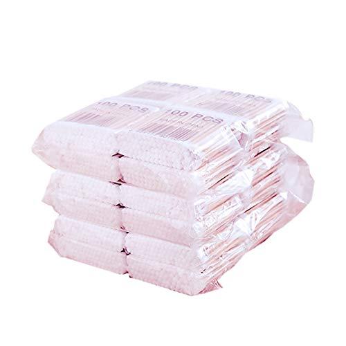 ACAMPTAR 800Pcs / Paquete Hisopos De Algodón Desechables