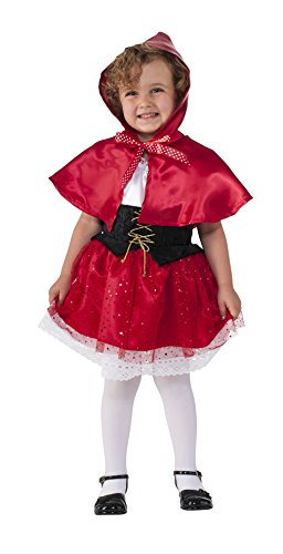 Kostüm Red Lil - Rubie's Costume Lil' Red Riding Hood Child Costume, Small by Rubie's Costume Co