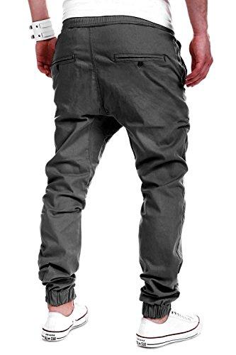 MT Styles Harem Jogger Chino-Hose C-60 Dunkelgrau