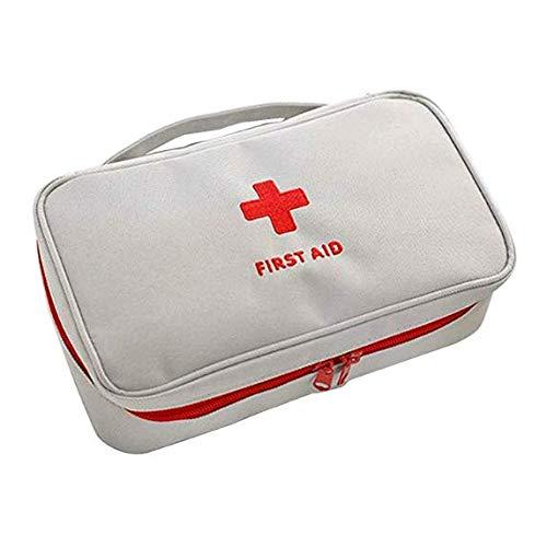 Buweiser Travel Storage Erste Hilfe Kit Small Medizinpaket, Nylon, weiß, Same