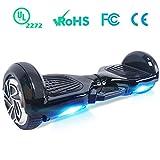 Windgoo Hoverboard 6.5 Pulgadas, Smart Scooter Segway Self Balancing 2 * 350W Self Balance Board con patín eléctrico LED Scooter para niños y Adultos