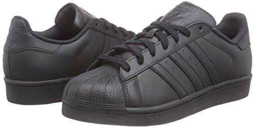 adidas Superstar Foundation, Herren Sneakers, Schwarz - 5