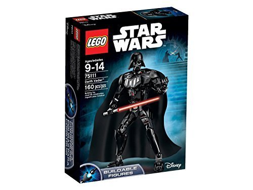 LEGO Star Wars 75111 Darth Vader Building Kit (Pack of 2) by LEGO