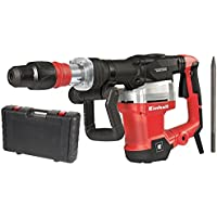 Einhell TE-DH 1027 - Martillo demoledor, 1900 percusiones/min, mandril de martillo SDS Max, 32 J, 1500 W, 230-240 V, color negro y rojo