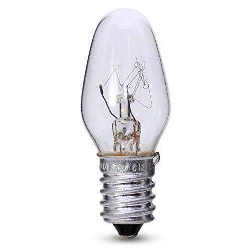 7W E14/SES Bell Night Glühbirne klar Lampe Marken X 4