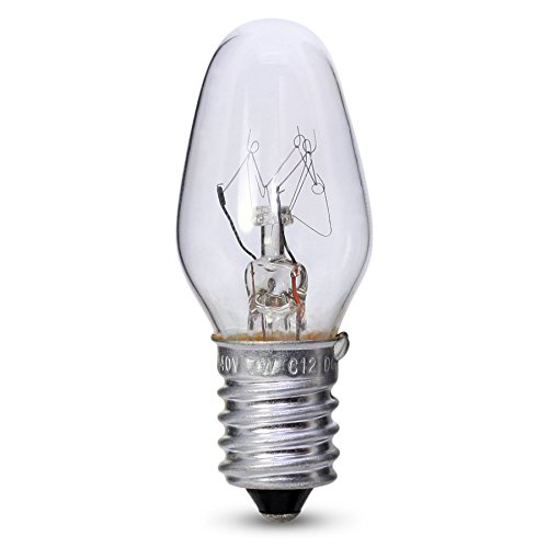 7W E14/SES Bell Night Glühbirne klar Lampe Marken X 4 Klar Appliance Glühbirne