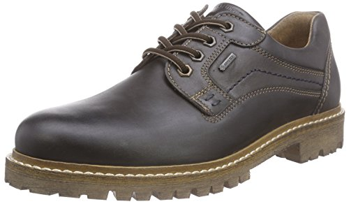 Fretz Men Boris Men Derby Stringate Marrone (59 Moka)
