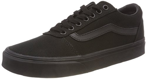 Vans Herren Ward Canvas' Sneakers, Schwarz Black 186, 40 EU