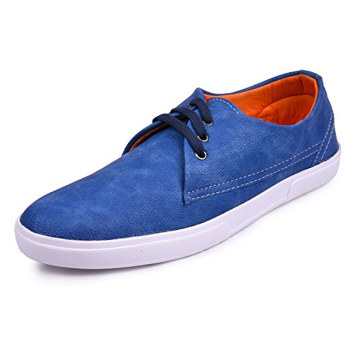 Arthur Men's Blue Synthetic Sneakers  available at amazon for Rs.499