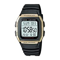 Casio Watch for Men - Digital Resin Band - W-96H-9AVDF
