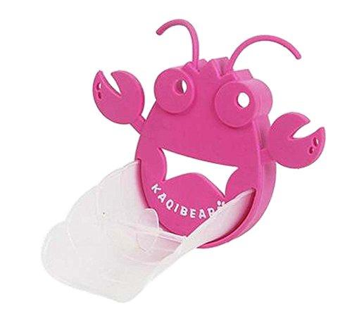[Rosa Hummer] Cute Cartoon Wasserhahn Extender Sink Handle Extender für Kinder (Rosa Hummer)