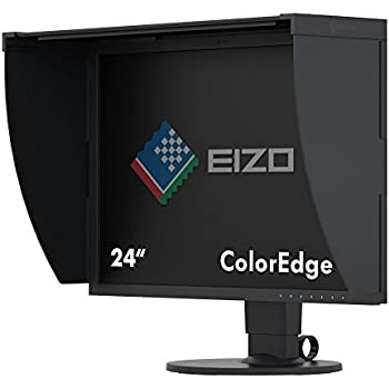 "Eizo CG2420 24.1"" Full HD IPS Negro pantalla para PC LED display - Monitor (61,2 cm (24.1""), 400 cd / m², 1920 x 1200 Pixeles, 10 ms, LED, Full HD)"