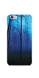 Blueish Forest iPhone 6/6S Soft Case