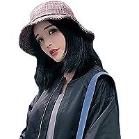 LIGYM Sombrero de Pesca,Mujer,cálido,Sombrero.