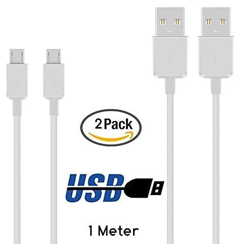 Original COVERLOUNGE - Micro USB Kabel [2-Pack] / Datenkabel /
