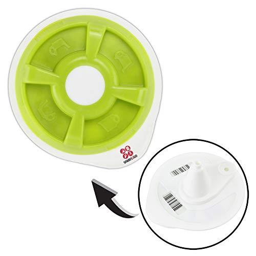 SPARES2GO heißem Wasser T DISCS für Bosch Tassimo T12 T20 T32 T42 T40 T65 T85 oder Oberteil VIVY Coffee Maschine (grün)