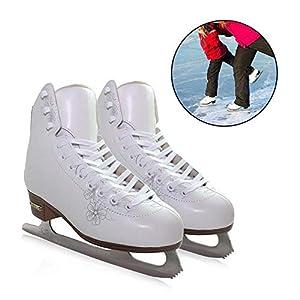 Rollschuhe, Samtfutter-Eishockeyschuhe für Kinder und Erwachsene
