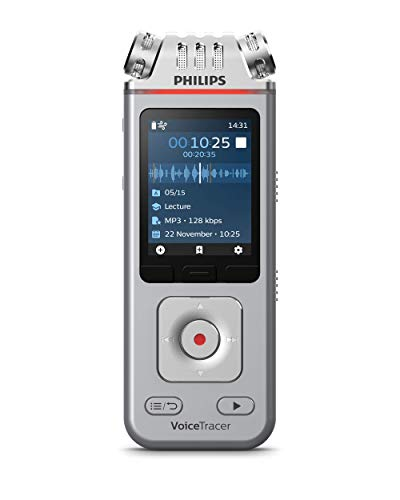 Imagen de Grabadora de Voz Portátil Philips por menos de 150 euros.