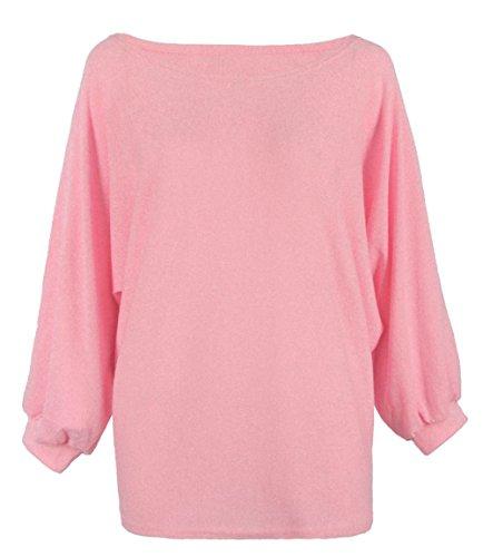 alaix-donne-girocollo-oversize-batwing-lavorato-a-maglia-pullover-superiore-allentato-maglione-ponti