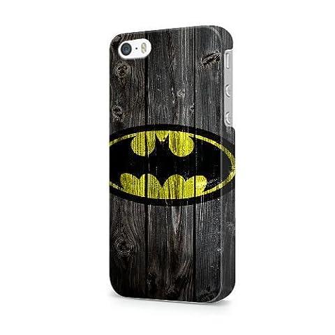 Générique Appel Téléphone coque pour iPhone 4 4S/3D Coque/BATMAN_LOGO/Uniquement pour iPhone 4 4S Coque/GODSGGH710137