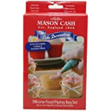 Mason Cash Silicone Icing Bag and Nozzles, Set of 6