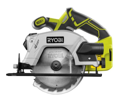 The Ryobi RWSL1801M 18V One+ Circular Saw is a light model best suited for DIY enthusiast and home users. However, it has the ability to produce compact power and will cut through most materials with ease all harder materials and woods so drain the battery much faster.