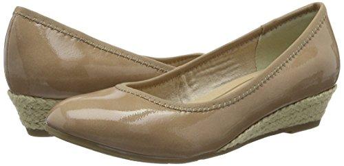 Marco Tozzi 22200, Chaussures Compensées Pour Femmes Beige (candy Patent 538)