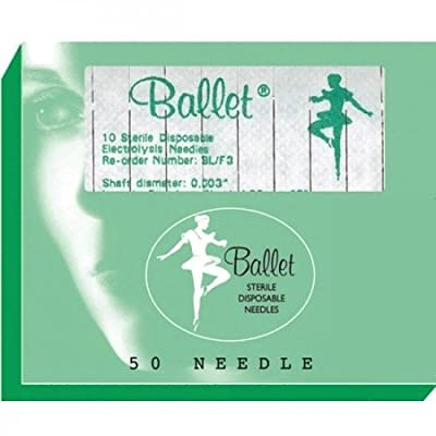 Sterex F4 Ballet Stainless Needles size 004 (50) from Sterex