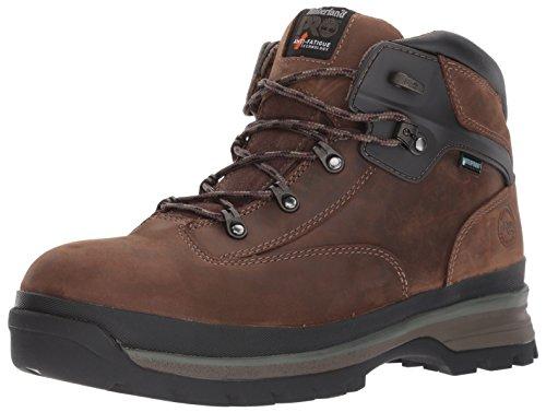 Timberland Pro Mens EURO Hiker Al WP Brown Shoe  10 5 UK  Dark Brown