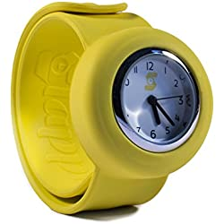 Original Slappie Mellow Yellow Slap Watch (BBC Dragons Den Winner) Adults/Kids Size Small