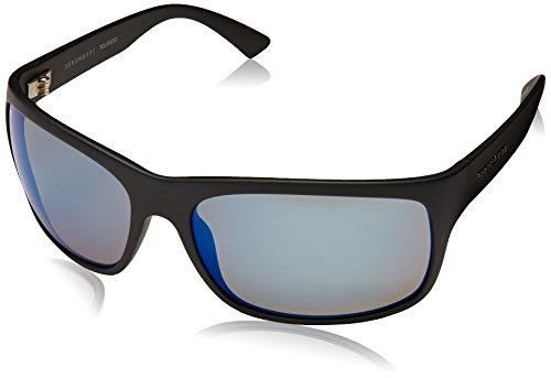 Serengeti Eyewear Erwachsene Pistoia Sonnenbrille, Satin Black, Large