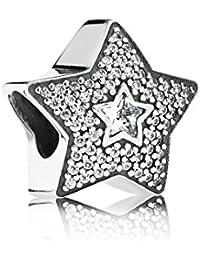 Pandora breloque étoile Pavè d'envies