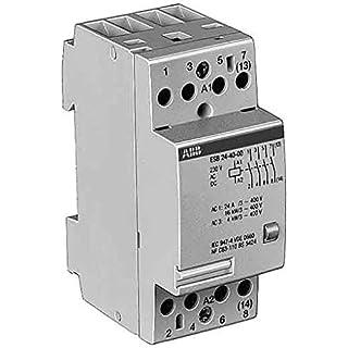 ABB Stotz S&J Installationsschütz ESB 24-22 230VAC/DC 24A 2S/2Ö System pro M Installationsschütz für Reiheneinbau 4013614084614