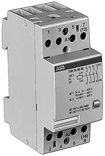 Abb-entrelec esb24-22/230v - Contactor esb 24-22 230v 2na+2nc